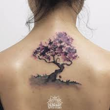 image result for japanese cherry blossom tree watercolor