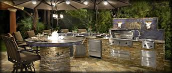 Firepit Outdoor Outdoor Kitchen Pit Water Features