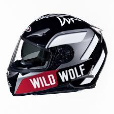 shiro fullface helmet sh 715 wild wolf motovento