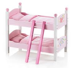 Bunk Bed For Dolls Bayer Chic 2000 Butterfly Wooden Dolls Bunk Beds