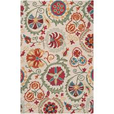 White Accent Rug Surya Candice Olson Winter White 2 Ft X 3 Ft Accent Rug Can1982