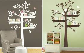 stickers arbre chambre enfant stickers pour la chambre de bébé arbre archzine fr