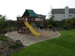 how to landscape under a swing set helpfulhowtos