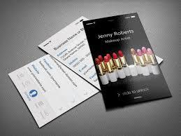 makeup artists business cards colors makeup artist business cards design together with makeup