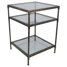 Glass Accent Table Upc 492491618602 Threshold Square Metal U0026 Glass Accent Table