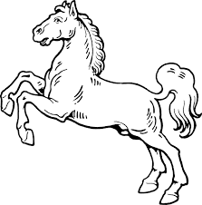 horse coloring pages 3 coloring pages print