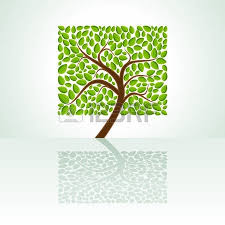 tree with branches and leaves royalty free cliparts vectors and