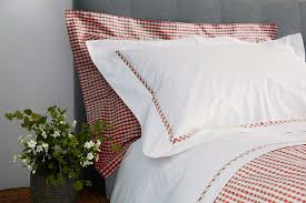 Red Gingham Duvet Cover Fab Furnishings Gingham Red