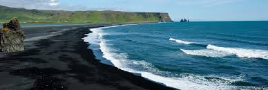 black sand beach iceland feel the planet