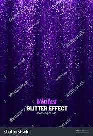 Purple Color Magic Glitter Background Purple Color Vector Stock Vector