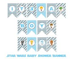 wars baby shower ideas wars it s a boy banner wars baby shower