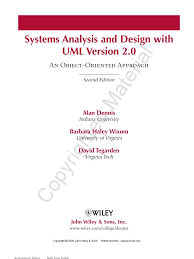 system analysis and design with uml version 2 0 1 intelligence