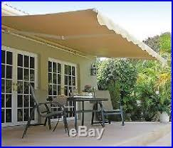 Aleko Awning Patio Awnings Canopies And Tents Blog Archive 14 Ft Sunsetter