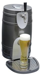 amazon com koolatron ktb05bn 5 liter beer keg chiiler silver