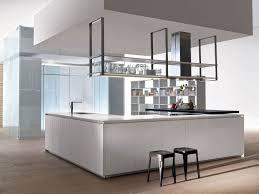 Island Kitchen Hoods Cucina Con Isola Senza Maniglie Hi Line 6 Hi Line By Dada Design