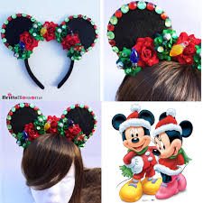 christmas mouse ears minnie mouse ears mickey mouse ears