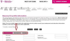 Apply Resume Online by How To Apply For T Mobile Jobs Online At Tmobile Careers