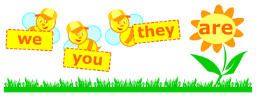 verb be grammar printables for kids learning english