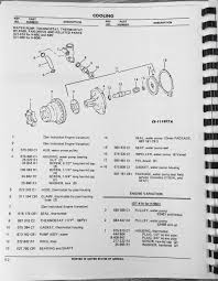 international td15c crawler dozer tractor engine parts manual book