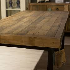 Baker Dining Room Furniture by Baker Nixon Rustic Extending Dining Table