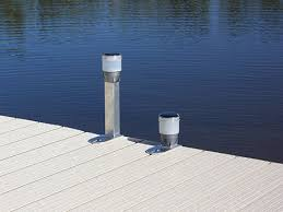 solar dock lights solar dock lights at ease dock lift detroit lakes mn