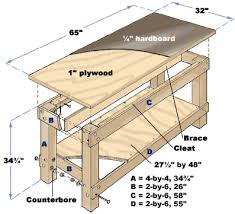 Free Plans To Build A Storage Bench by Build Workbench Plans Fifteen Free Workbench Plans That Include