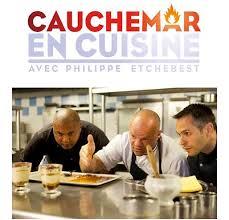 livre cuisine philippe etchebest l émission de télé cauchemar en cuisine à lyon le 3 janvier à