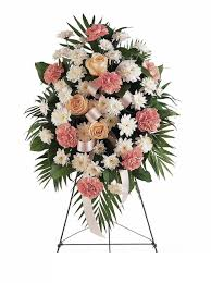 cheap funeral flowers gentle thoughts spray cheap funeral flowers houston