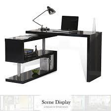 study table l t corner l shaped student folding adjustable rotating executive