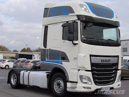 used daf xf 105 460 superspacecab manual e6 tractor units year