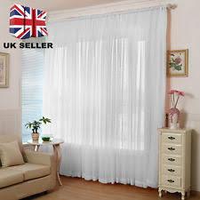 voile curtains ebay