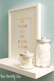 Free Bathroom Makeover - colorful bathroom printable free printable word art