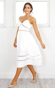 summer dress of summer dress in white showpo