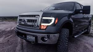 2012 ford f150 projector headlights install review spyder led halo projector headlights 2009 2014