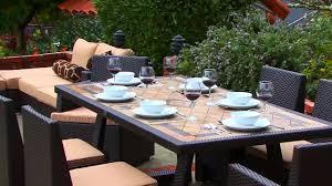 Patio 7 Piece Dining Set - niko 7 piece dining set by sirio video gallery