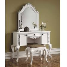 contemporary white bedroom vanity set table drawer bench bedroom bedroom vanity white antique vanity mirror and bench buy