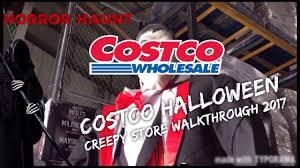 costco uk 2017 halloween creepy store walkthrough ep1 horror