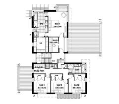 4 bed floor plans modern style house plan 4 beds 2 50 baths 3389 sq ft plan 496 17