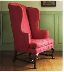 Queen Anne Wingback Chair Chairs By Judith Miller U2014 Books