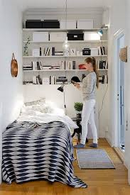 bedroom shelves 25 smart storage ideas for tiny bedrooms shelterness