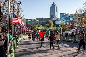 thanksgiving atlanta half marathon phidippides west stride named exclusive run specialty partners of