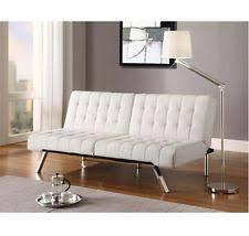 ivory futon frame and mattress set ebay