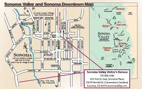 sonoma california map map of sonoma downtown and sonoma valley 101 things to do wine