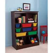 Bookshelf And Toy Box Combo Toy Shelves