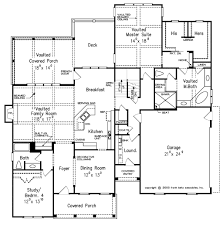 Deck Floor Plan by Traditional Style House Plan 4 Beds 3 Baths 2899 Sq Ft Plan 927