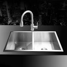 Aliexpresscom  Buy Mm  Stainless Steel Undermount - Brushed steel kitchen sinks