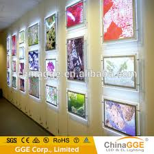 light boxes for photography display super slim led light box magnetic photography light box backlit