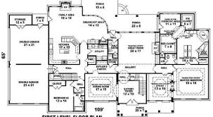 big houses floor plans large house plans home design
