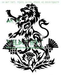 scottish lion tattoo best lion image and photo hd 2017