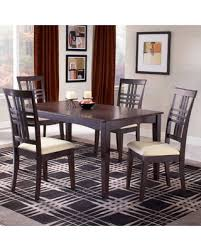 Espresso Dining Room Set by Check Out These Summer Savings Tiburon Espresso Dining Table With